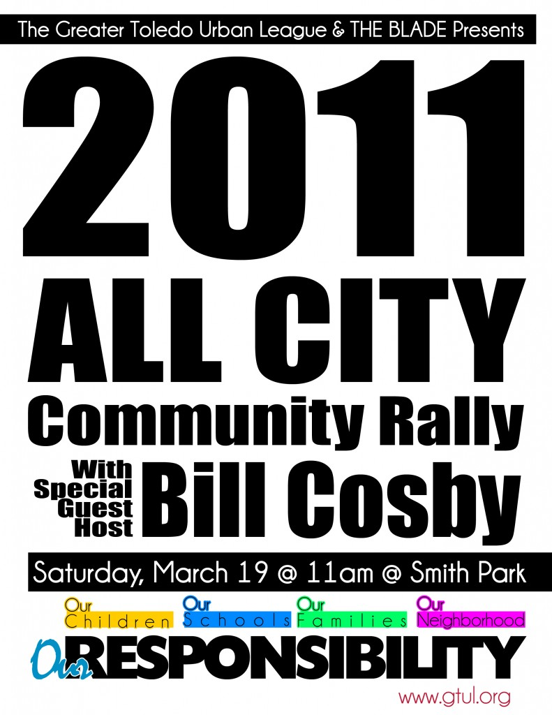 The Toledo All City Community Rally hosted by The Greater Toledo Urban League and THE BLADE